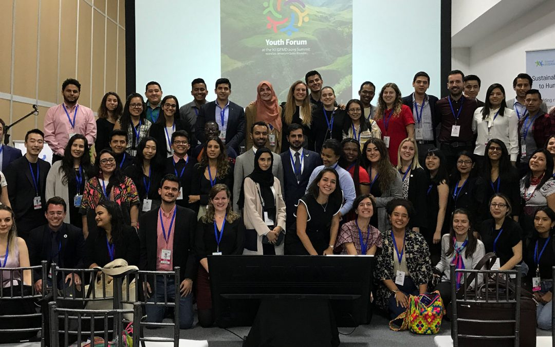 Conoce las voces de los jóvenes del #YouthForum en Quito