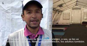 Testimonio de Mauricio Ramírez desde el Puente Rumichaca, frontera norte de Ecuador.