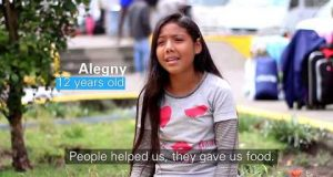 Marita Perceval, UNICEF Regional Director, visits Ecuador