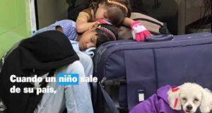 Riesgos a los que se enfrentan niños, niñas y adolescentes migrantes.